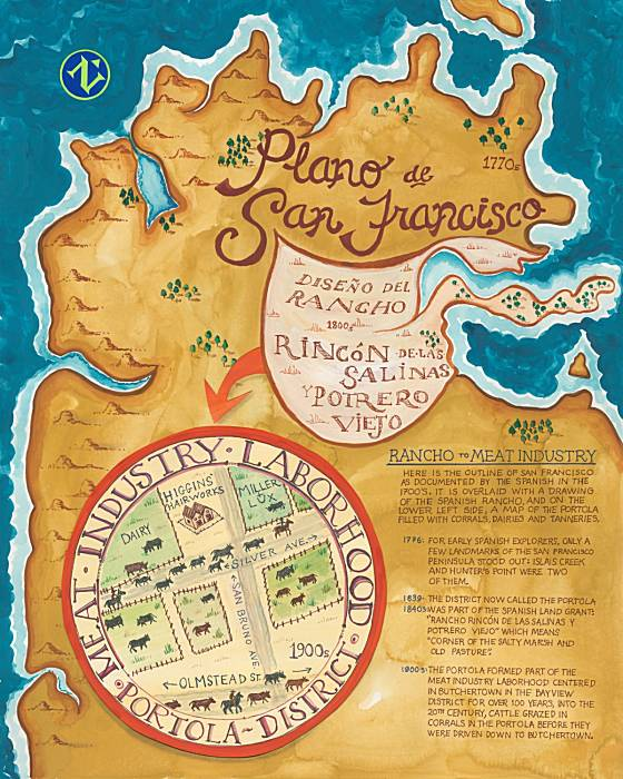 Plano de San Francisco